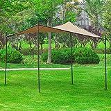 SoBuy® OSS01 Pergola Tonnelle de jardin Avent Pavillon Abri