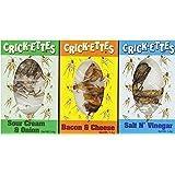 Crick-ettes Seasoned Crickets (Pack of 24)
