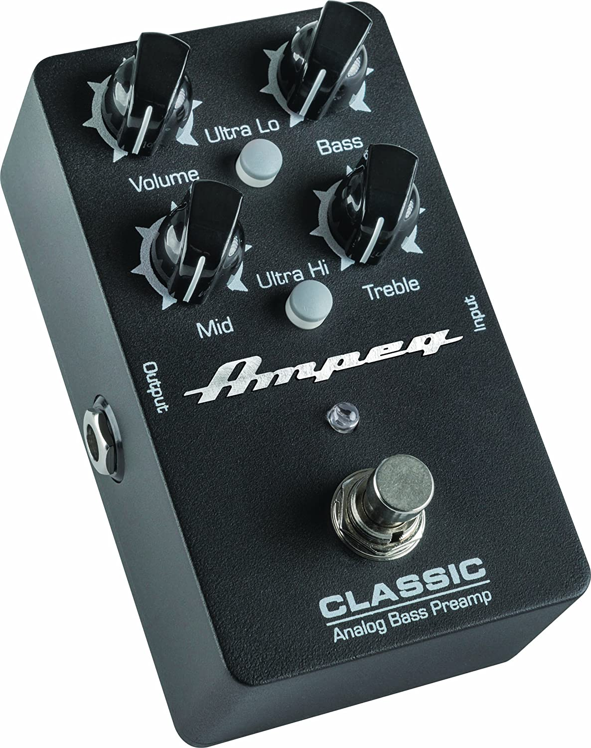 Ampeg Classic Analog Bass Preamp Pedal Loud Technologies Inc.