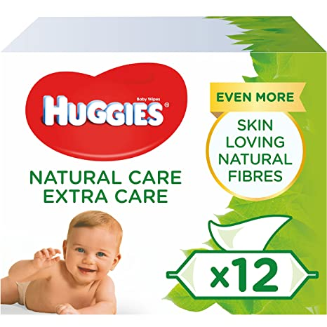 Huggies Natural Care Extra Care - Toallitas para bebé