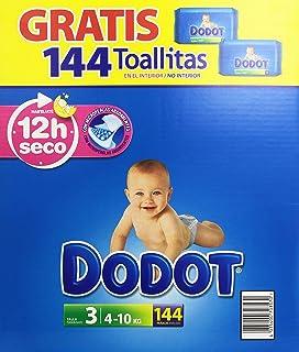 Dodot - Pañales para bebé, talla 3, 140 pañales