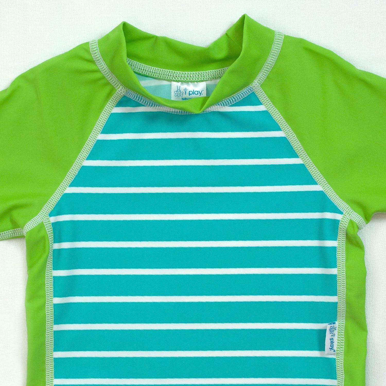 I-Play Baby Boys Three-Quarter Sleeve Rashguard Shirt