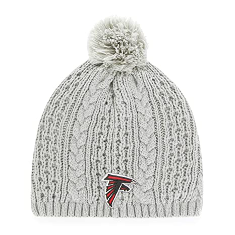 Amazon.com   OTS NFL Atlanta Falcons Female Valerie Beanie Knit Cap ... d25990103