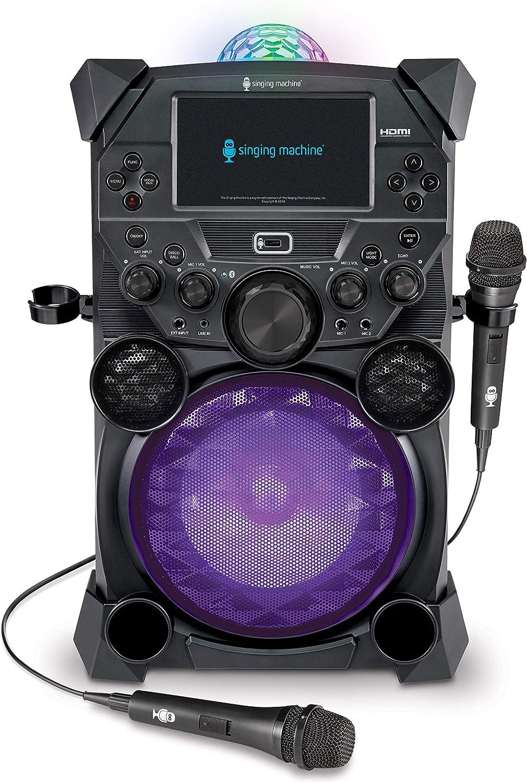Singing Machine Home Karaoke System, Grey (SDL9050)