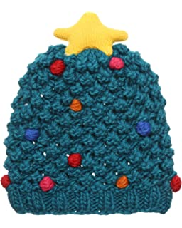 49139cb64a2 MIRMARU Christmas Holiday Fashion Collections Winter Knitted Pom Pom Beanie  Hat.