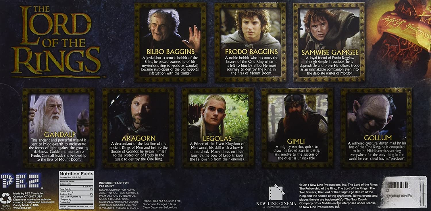 Characters of the Lord of the Rings: to embrace the immensity 3