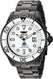 Invicta Men's 'Pro Diver' Automatic Stainless Steel Diving Watch, Color:Black (Model: 22215)