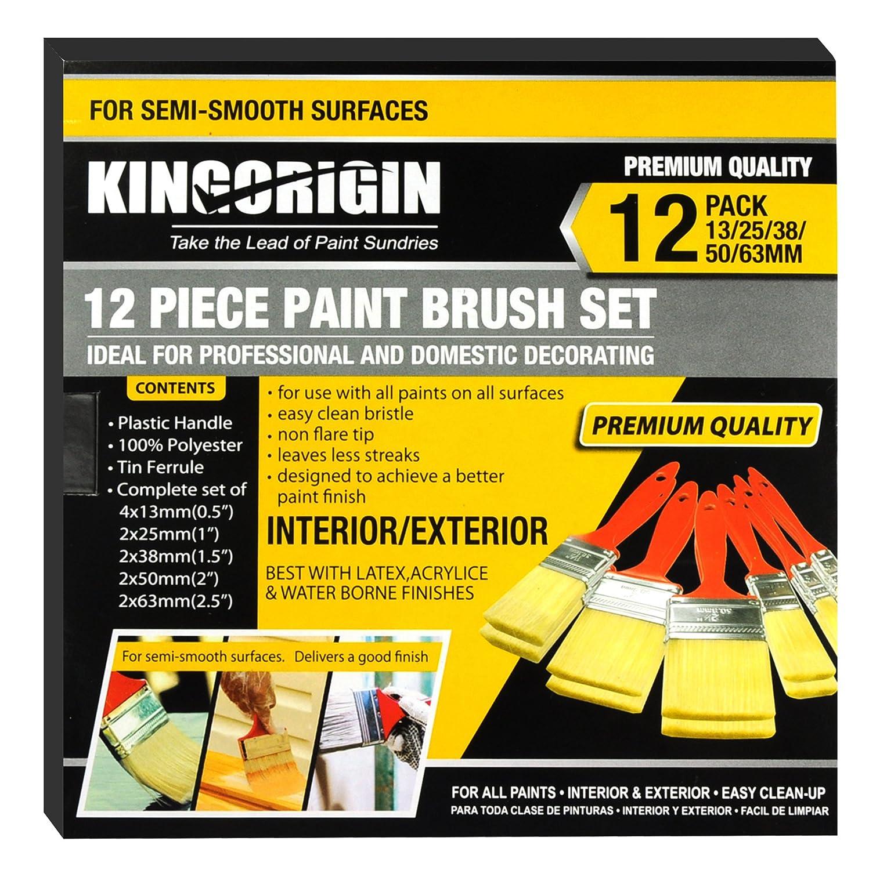 KingOrig 10035C 12 piezas Juego de pinceles