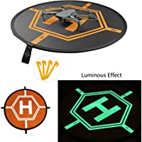"2018 New Luminous InnoGiz 84cm 33"" Drone Landing Pad, Portable Fast-Fold, RC Quadcopter Helicopter: DJI Mavic Air,Pro,Platinum,InspirePro 3 2 1,Phantom 4 Pro 4 3 2,Matrice Pro,Spark,3DR,Yuneec Typhoon"
