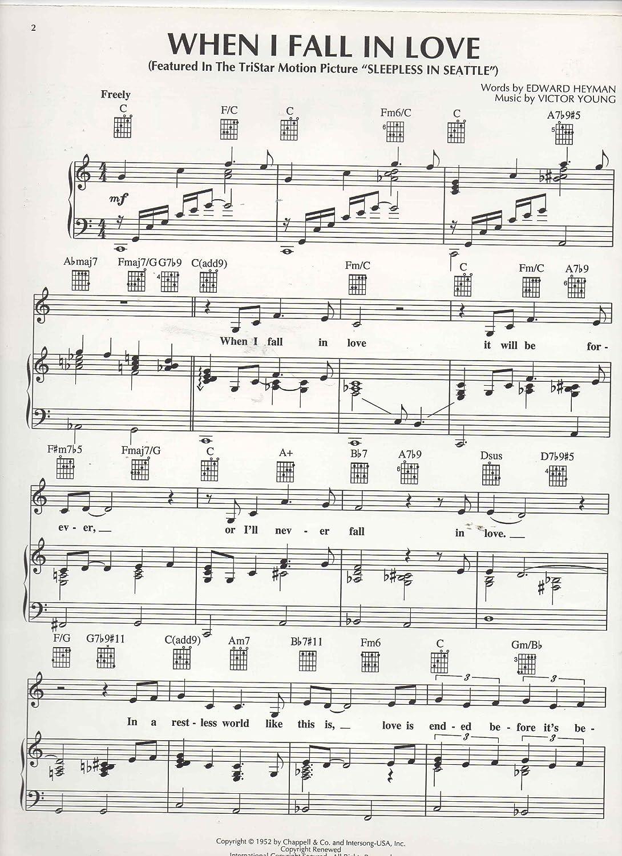 When I Fall in Love - Choir - CD: Amazon.es: Instrumentos musicales