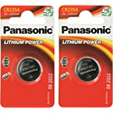 Panasonic CR2354 Lot de 2 piles lithium 3 V