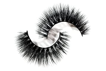 7f7cba28f19 Amazon.com : Long Wispy Lashes Thick Dramatic Real 3D False Mink Eyelashes  Cruelty Free Reusable For Glamorous Make Up in style Luna : Beauty
