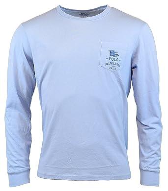 326015067f2f Polo Ralph Lauren Men s Custom Slim Fit Long-Sleeve T-Shirt