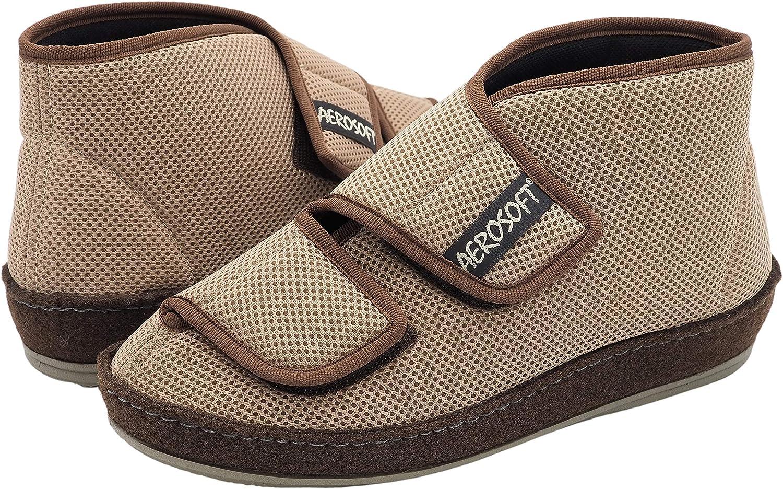 Aerosoft atmungsaktiver Klett Stiefel für Damen und Herren
