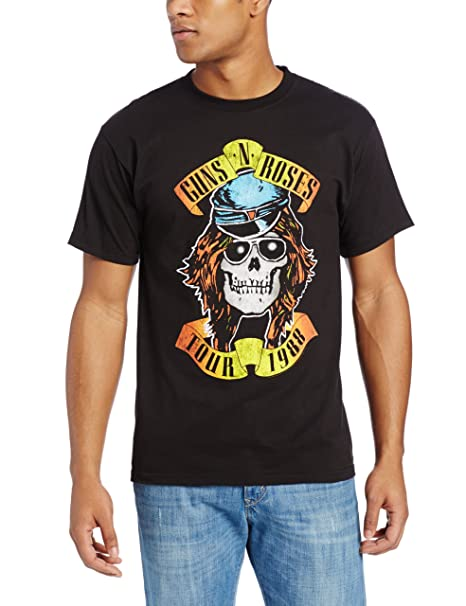 Bravado Guns N Roses - Camiseta para Hombre - Negro - Small