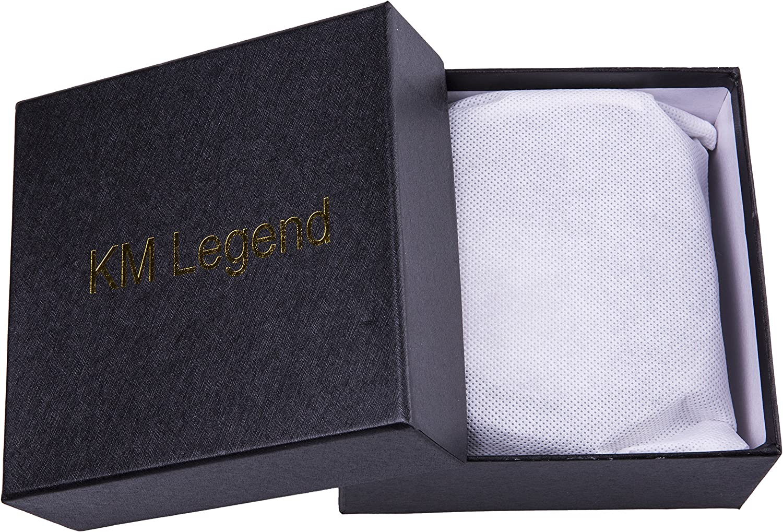 Mens Genuine Leather Dress Belt with Premium Quality 32//34, Everyday Black