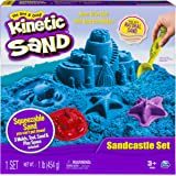 Kinetic Sand - Sandcastle Set with 1lb of Sand, Molds and Tools (Colors Vary)