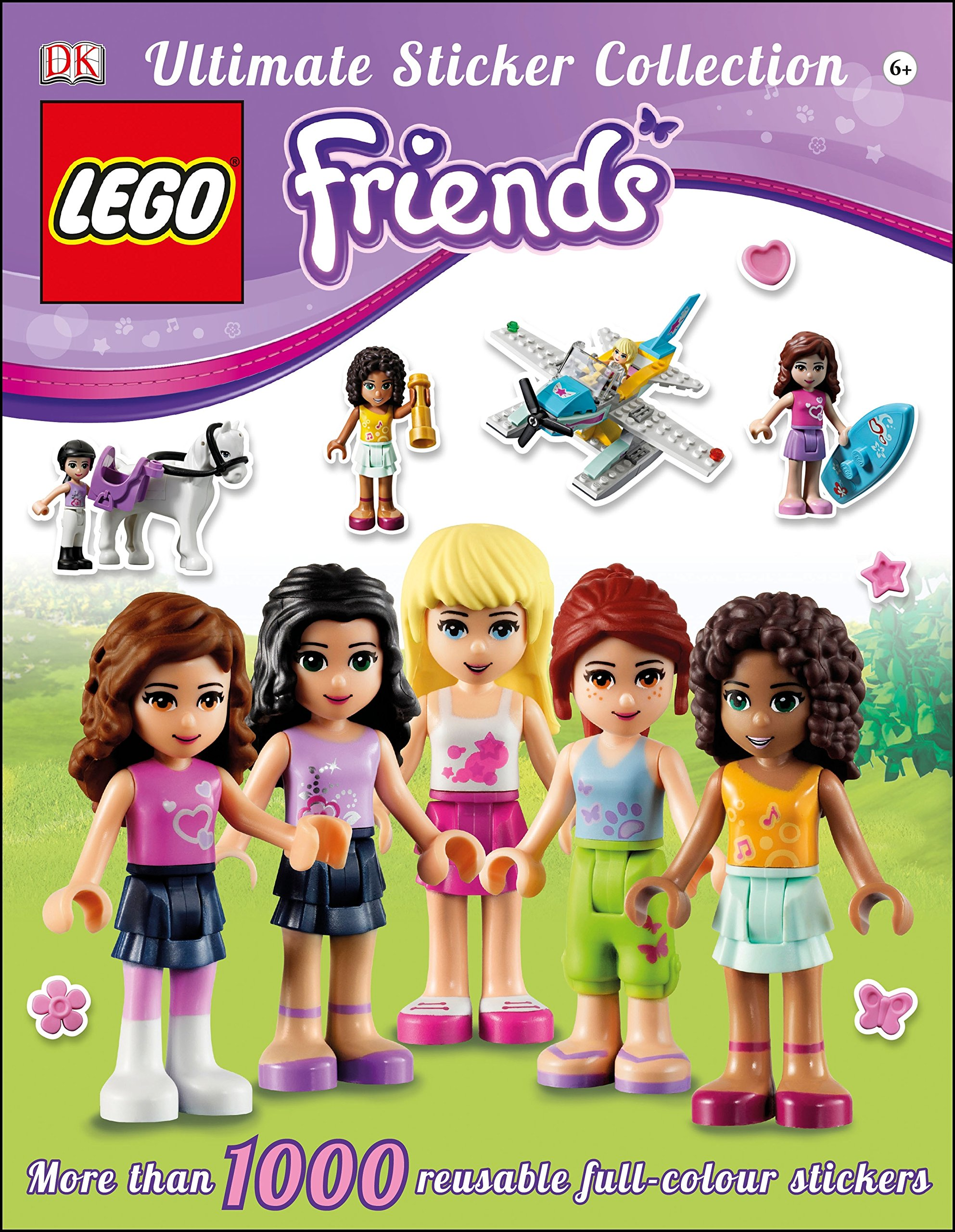 Lego Friends magazine issue 23 Lego toy and stickers