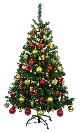 Christmas Concepts árbol De Navidad Pre Decorado De Lujo De