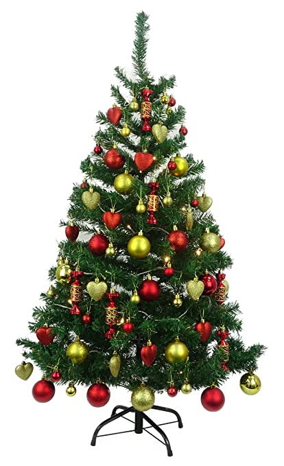 Christmas Concepts 4ft Luxury Pre Decorated Christmas Tree Kit