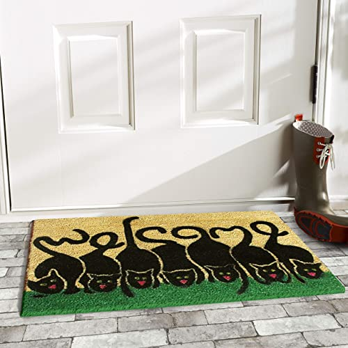 Calloway Mills 120392436 Cats Welcome Doormat 24 x 36