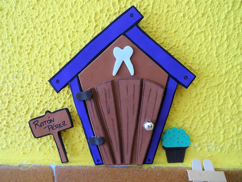 Puerta mágica Ratoncito Pérez. Incluye escalera, cubito para diente y accesorios.: Amazon.es: Handmade