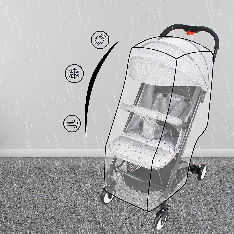 Einhand-Faltmechanismus Transporttasche Leogreen nur 6,5 kg Kinderwagen Flugzeug Buggy mit Liegeposition Getr/änkehalter Grau Sportwagen Kompakter Kinderwagen Buggy Reise mit Regenverdeck