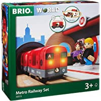 Brio Metro Railway Set, 20 Pieces Train Set