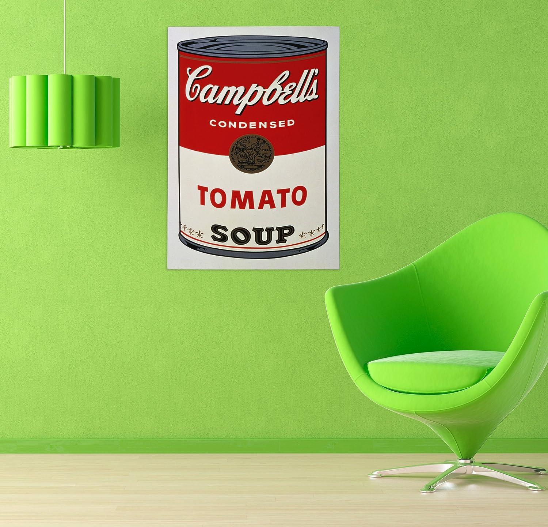 20cmx30cm Quadro in Tela Canvas Pronto da Appendere LaMAGLIERIA FINE Art Andy Warhol Campbells