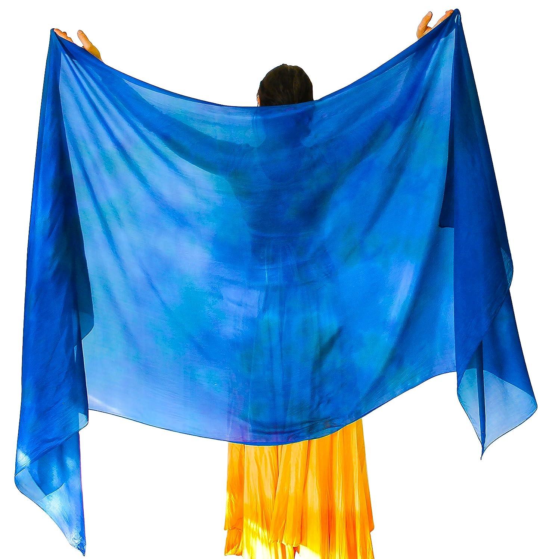 Nahari Silks APPAREL レディース B077C9PS4V 4L|オーシャン(Ocean) オーシャン(Ocean) 4L