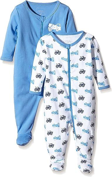 Care Baby-Jungen Schlafstrampler 2er Pack