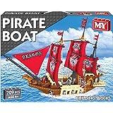 M.Y Pirate Boat Brick Set (Multi-Colour)
