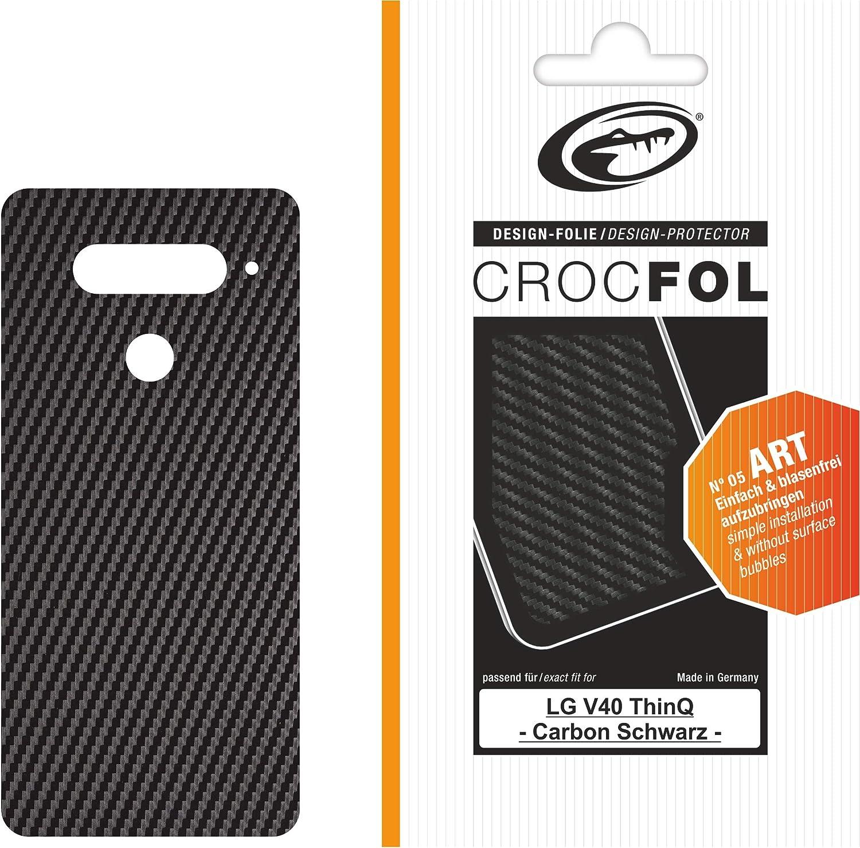 Crocfol Art - Protector de Pantalla para LG V40 Thinq: 1 Protector ...