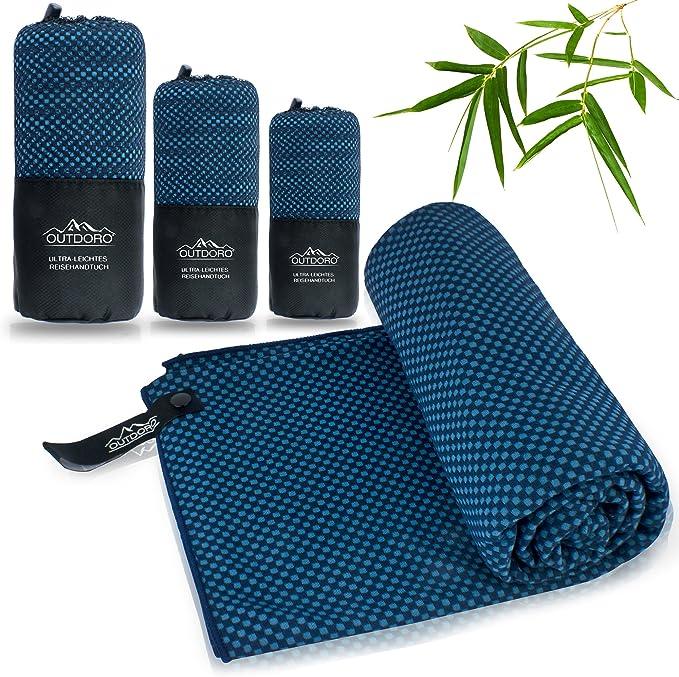 Leichtes Reisehandtuch Super saugfähiges Badetuch Mikrofaser Handtuch für