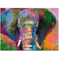 Trademark Fine Art Elephant 2 Artwork por Richard Wallich