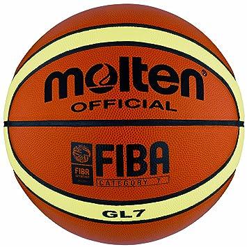 MOLTEN Top Grain Fiba - Balón de Baloncesto (Piel)