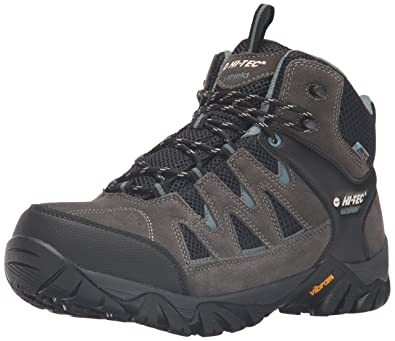 Hi-Tec Men's Sonorous Mid II I Waterproof Hiking Boot, Gull Grey/Black