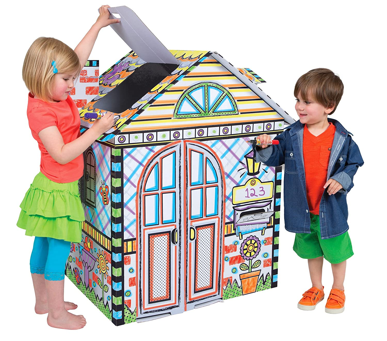 Amazon ALEX Toys Craft Color a House Children s Kit Toys & Games