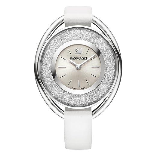 5c79cef1e5a3 Swarovski Reloj analogico para Mujer de Cuarzo con Correa en Piel 5158548   Swarovski  Amazon.es  Relojes