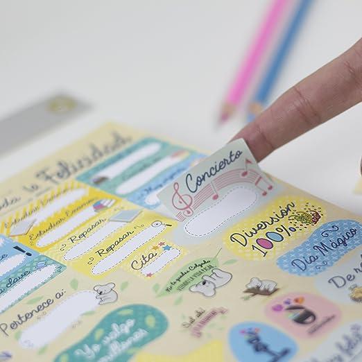 La mente es maravillosa - Cuaderno A5 - Regalo para amiga con dibujos-KOALA/ ESP: Amazon.es: Oficina y papelería