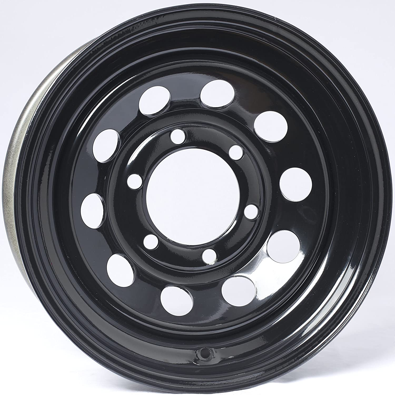 eCustomRim Trailer Rim Wheel 15X6 Black Modular 2830 Lb. 4.27 Center Bore 6 Lug
