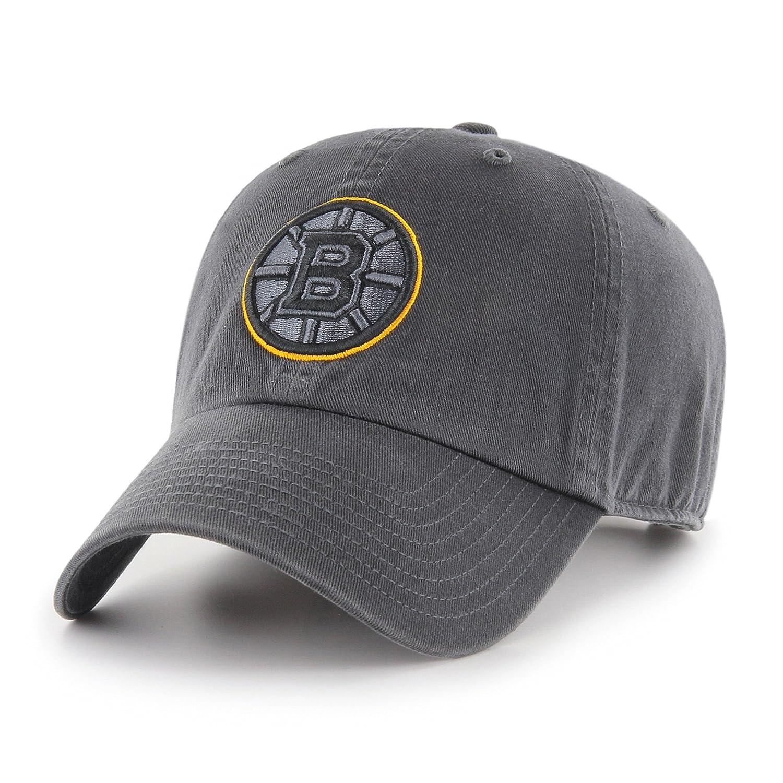 hot sales 2bd4b b3237 Amazon.com   NHL Boston Bruins Male OTS Challenger Adjustable Hat, Dark  Charcoal, One Size   Clothing
