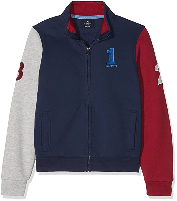 Hackett London Numb FZ Sweat, Sudadera para Niños: Amazon.es: Ropa y accesorios