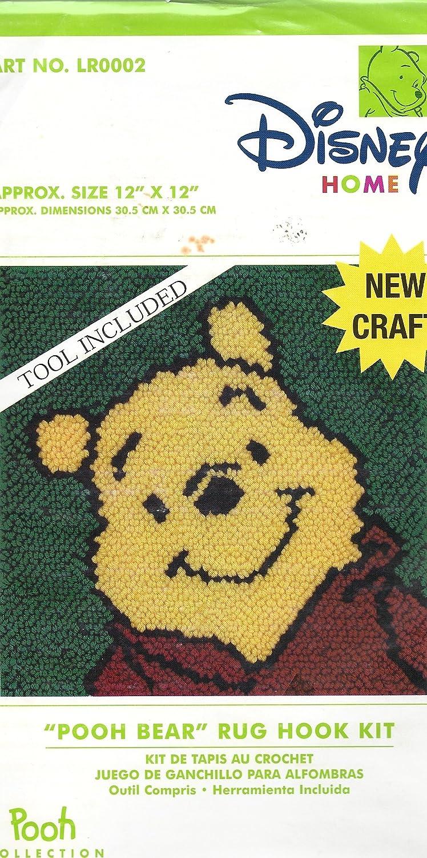 Disney Home Pooh Bear Rug Hook Kit