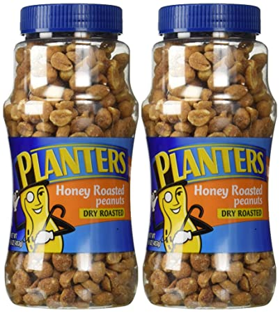 product dry roasted planters productdetail planter honey peanuts new