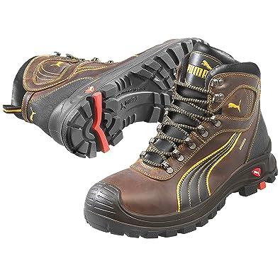 c1423a994f66 PUMA Safety Men s Sierra Nevada Mid WP EH Brown Sneaker ...
