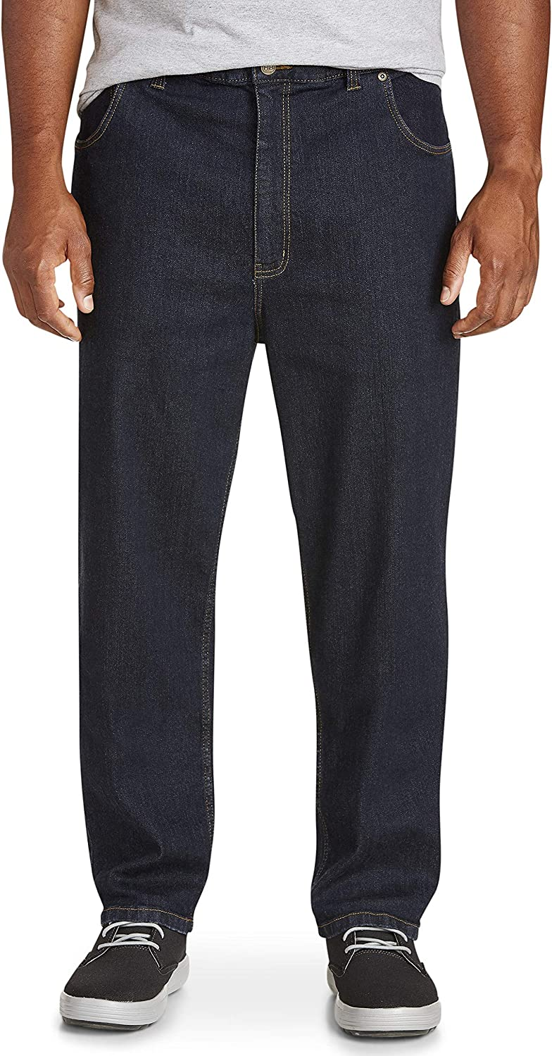 Harbor Bay by DXL Big and Tall Continuous Comfort Stretch Jeans