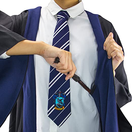 7d981747ea270 Harry Potter Authentic Tailored Wizard Robes Cloak by  Cinereplicas,Ravenclaw,Kids 8y to 10y