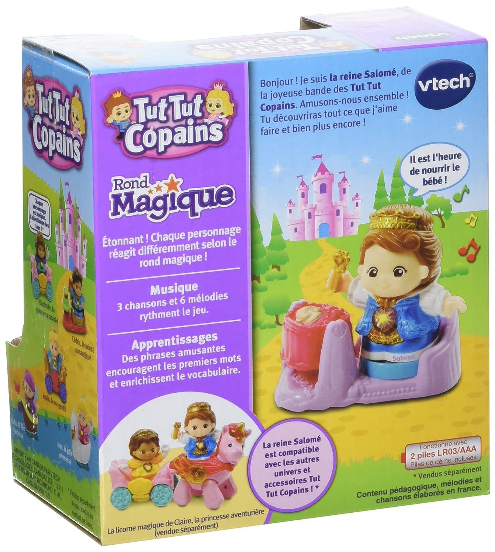 Vtech 217245 ttc la reine salomé et son bébé amazon fr jeux et jouets