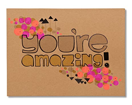 Amazon american greetings youre amazing birthday card american greetings youre amazing birthday card bookmarktalkfo Image collections